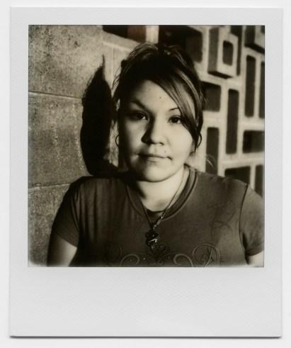 Bree, a survivor of intimate partner violence. (Williston, ND / August 2015)