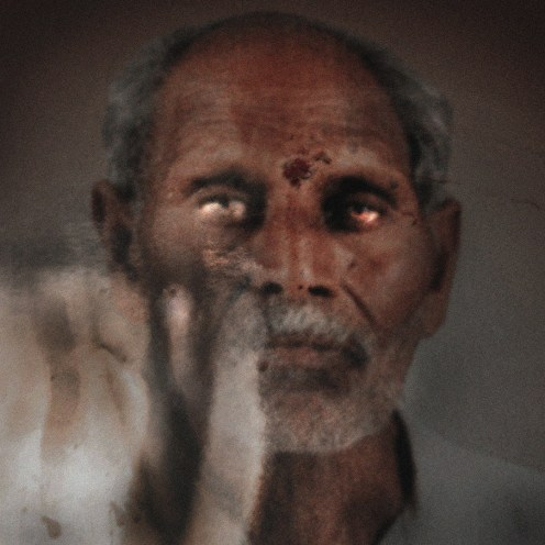 Chandrabhan Zitheu Chaturkar, 70, hung himself in his house on May 2, 2010. He owed 16,000 Indian rupees (US$240).