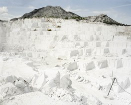 30.04.2015, Prilep, Macedonia. Marble excavated in Sivec quarry near by Prilep is recognised as equal in quality to famous Carrara but substance was not used in neoclassical constructions and replaced with cheaper materials.
