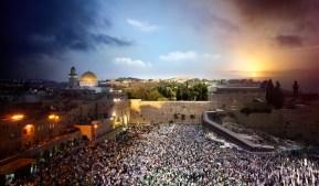 Western Wall, Jerusalem, Day to Night, 2012