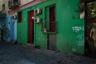 Brothels are somehow legal in Greece. Only 10 brothels comply with the restrictive laws regulating the opening. Each structure must be at least 200 meters from schools, churches and pubic buildings. In certain areas of the city there are dozens of illegal brothels that do nothing to hide.