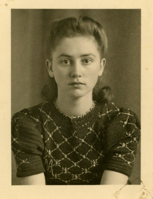 My grandmother 1938, 18 years old.