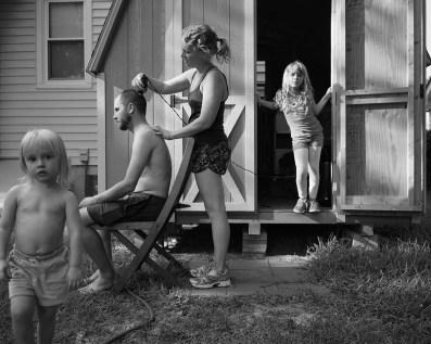 Backyard Haircut, Norfolk, Virginia