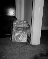 Plastic-wrapped memory, Winston-Salem, North Carolina