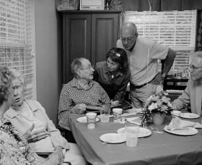 Papaw's 94th birthday, Winston-Salem, North Carolina