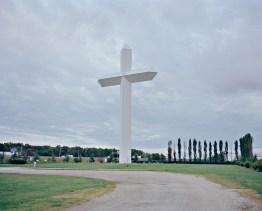 USA, Illinois: Entland des Highway 70 steht das größte Kreuz Nordamerikas. Bilder eines Landes, dass uns so fremd und doch so nah scheint. Fotografiert auf einer Reise durch 22 Bundesstaaten durch die USA im Jahr 2015 und 2016. FOTO: Mario Wezel
