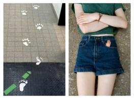 "18 - ""Footprints and Paw prints & Little plastic hand"" - ff6f348d-4a98-45c7-a29d-525c6eca3592"