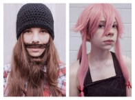 "19 - ""Girl with beard & Girl with pink wig"" - e1846aa2-e4d8-41b0-a97a-03c9b0ad21ee"