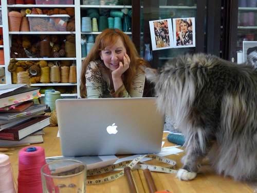 Darwin helping Barbara