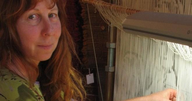Barbara weaving Revolution