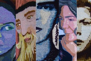 Faces Postcard