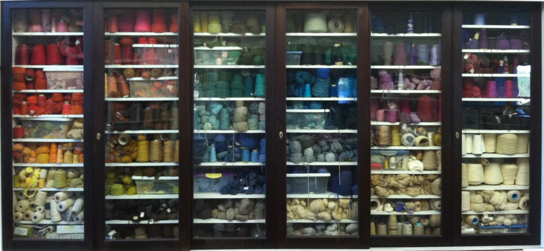 My yarn cabinet – Burns Studio