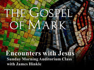 Encounters with Jesus in Mark