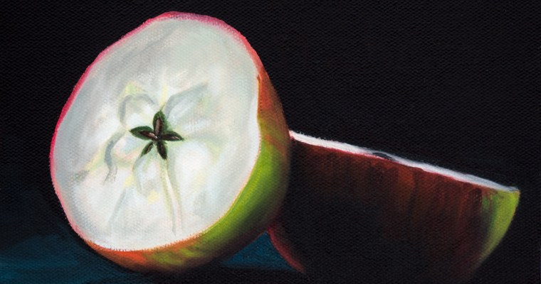 Fifth Apple Still Life – Apples to Apples