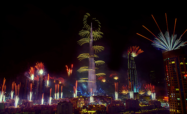 Dubai leads the top five haunts to have New Year   Buro 24 7 Dubai leads the top five haunts to have New Year