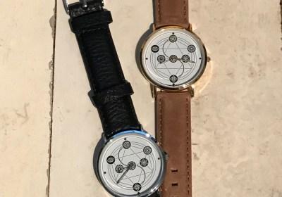 Branded horloge