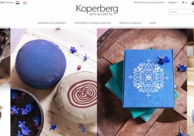 Webteksten Koperberg Arts & Crafts