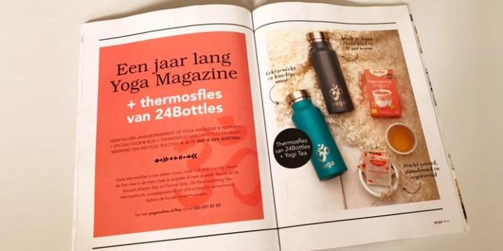 Productfotografie Yoga Magazine