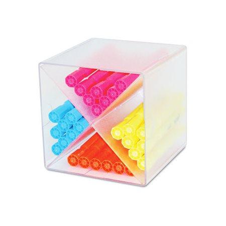 cube de rangement empilable diviseur en x