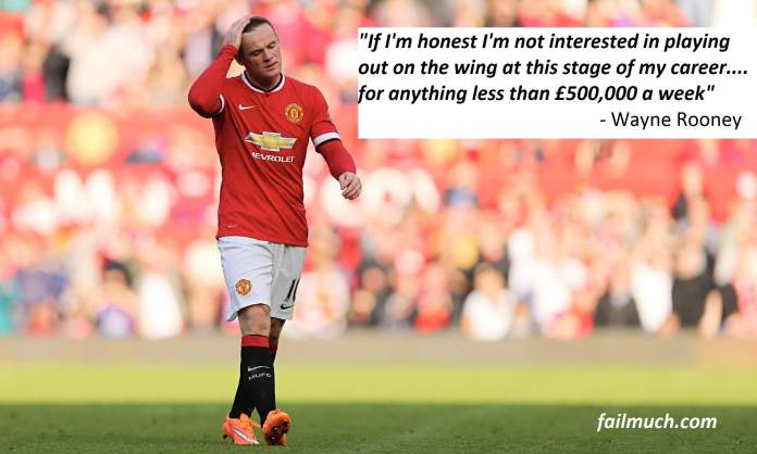 Wayne Rooney - Fail Much Satire New