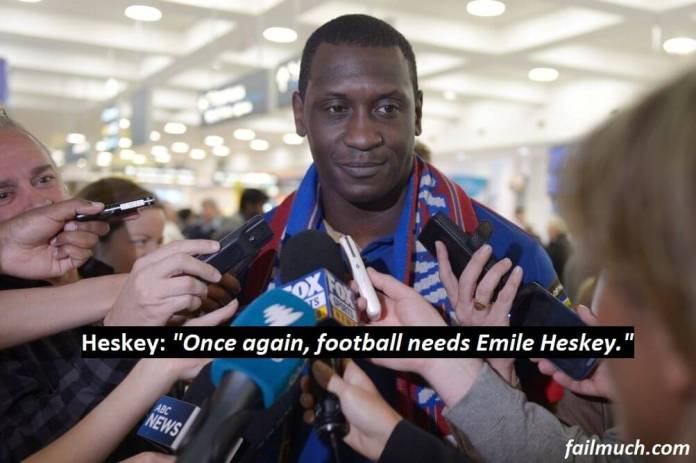 Emile Heskey announces his candidacy for FIFA presidency