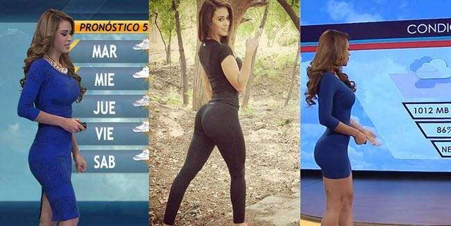 Big ass weather girl - yanet garcia