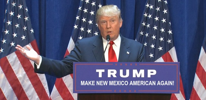"Donald Trump Admits ""Renaming New Mexico"" Will Be His First Act As President 