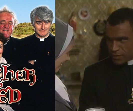 Black Man From Donegal Claims Father Ted Has Ruined His Life   Milkmen Blame Father Ted Episode
