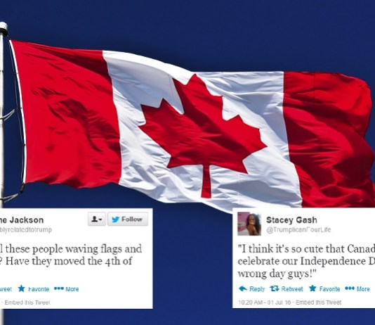 Americans Ridicule Canada For Celebrating Independence Day 3 Days Early