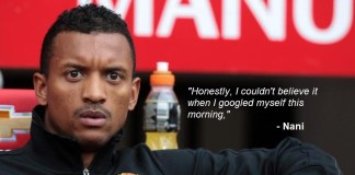Even Nani Shocked By Rumours Of Man Utd Return