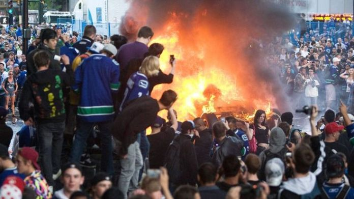 Riot Planned For Downtown Vancouver To Commemorate the 2011 Stanley Cup Riot's 5-year anniversary