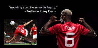 Paul Pogba Confident He's The Man To Finally Replace Jonny Evans
