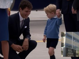"BREAKING NEWS: Prince George Justin Trudeau ""collision"" hospitalizes toddler"