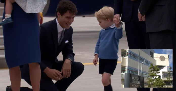 BREAKING NEWS: Prince George Justin Trudeau