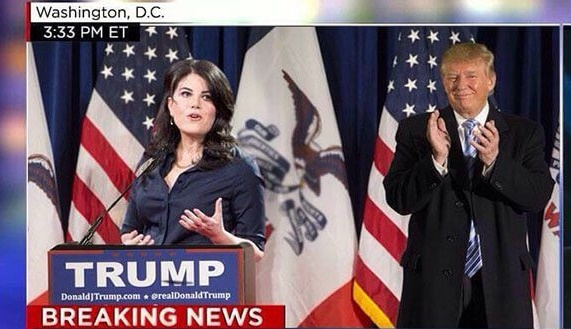 Trump Hires Monica Lewinsky As Advisor to Presidential Campaign