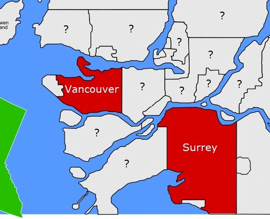 87% Of Vancouvers' Problems Blamed On Surrey, Study Finds