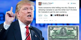 Deleted Trump Canadian Dollar tweet after Donald speaks to Fox News