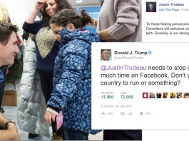 Trump Tweets Trudeau To Stop Wasting So Much Time On Facebook