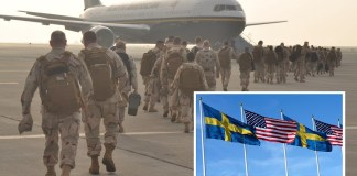 30,000 US Soldiers Redeployed From Bowling Green To Sweden