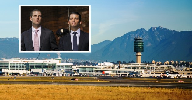 Full story: Trump Sons Detained At Vancouver Airport Due To Alleged Ties With Fascist Dictator | Trump Canada Independence
