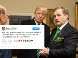 Trump Advises Ireland To Leave The UK