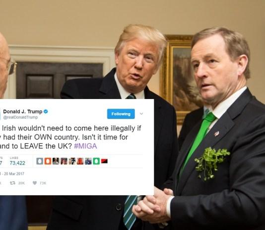 Trump Advises Ireland To Leave The UK