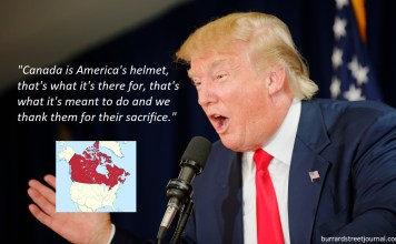 Trump Willing To 'Sacrifice Canada' In Potential War With North Korea