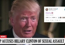President Trump Alleges He Was Sexually Assaulted By Hillary Clinton