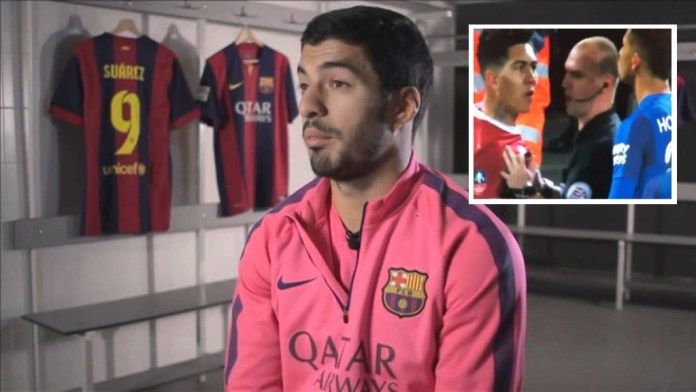 Luis Suarez Claims Firmino Is 'Completely Innocent' Of Any Alleged Racism