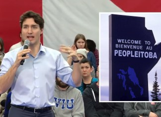 Trudeau Calls For Manitoba To Be Renamed 'Peopleitoba' | Image: Youtube/CBC