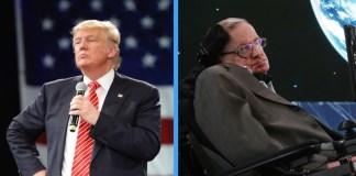 Trump Says Stephen Hawking's Death Has Stunned The Stable Genius Community   Stephen Hawking Trump