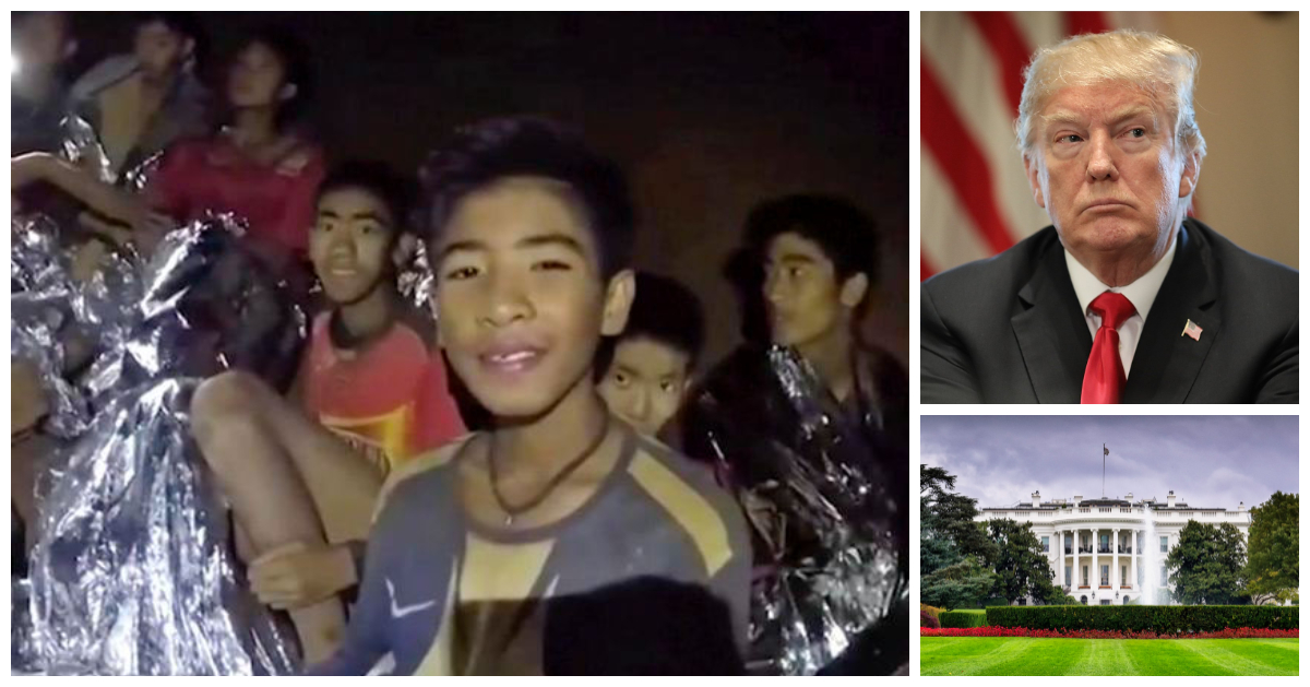 Trump Invites Thai Boys To White House; Boys Request To Return To Cave