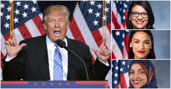Trump Clarifies 'Back Where They Came From' Remark To Congresswomen By Insisting He Was Talking About The Kitchen Trump Racist