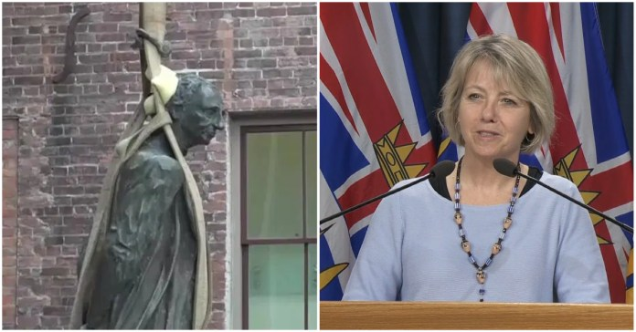 Proposal To Replace All Offensive Statues In BC With Statues Of Bonnie Henry Unanimously Approved
